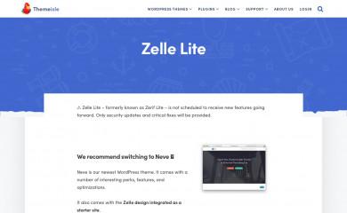 http://themeisle.com/themes/zerif-lite/ screenshot