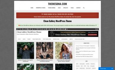https://themesdna.com/clean-gallery-wordpress-theme/ screenshot