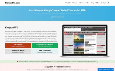 https://themesdna.com/elegantwp-wordpress-theme/ screenshot