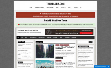 https://themesdna.com/freshwp-wordpress-theme/ screenshot