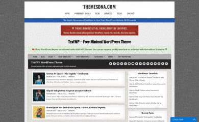 https://themesdna.com/textwp-wordpress-theme/ screenshot