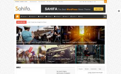 Sahifa screenshot