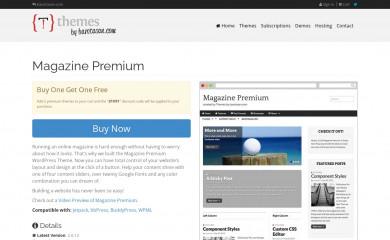 https://themes.bavotasan.com/themes/magazine-premium-wordpress-theme/ screenshot