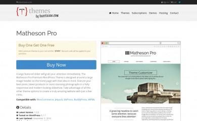 https://themes.bavotasan.com/themes/matheson-pro-wordpress-theme/ screenshot