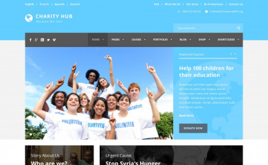 Charity Hub screenshot