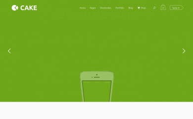 Cake screenshot