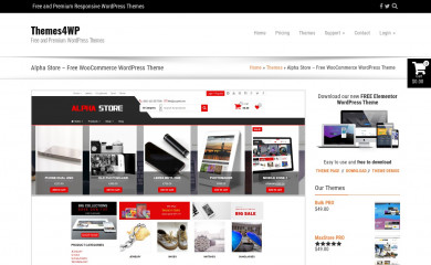 http://themes4wp.com/theme/alpha-store/ screenshot