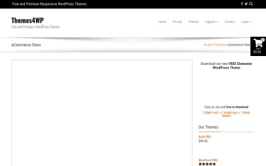 eCommerce Store screenshot