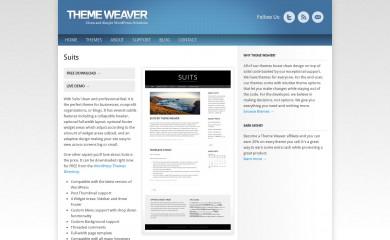 http://www.themeweaver.net/demo/suits/ screenshot