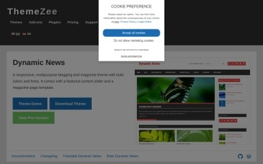 Dynamic News Lite screenshot