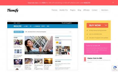 Themify Magazine screenshot