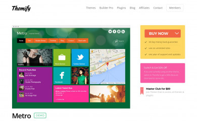 http://themify.me/themes/metro screenshot