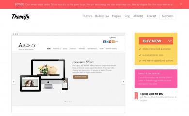 Themify Agency screenshot