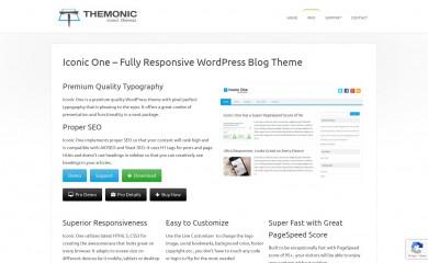http://themonic.com/iconic-one/ screenshot