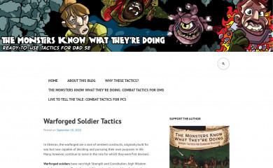 http://themonstersknow.com screenshot