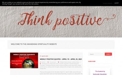 theawakeningspirituality.com screenshot