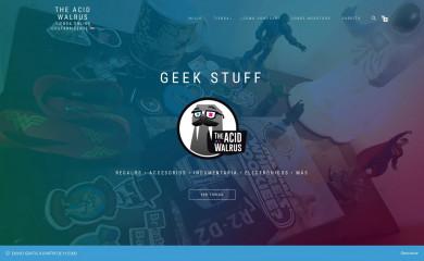 http://theacidwalrus.com screenshot