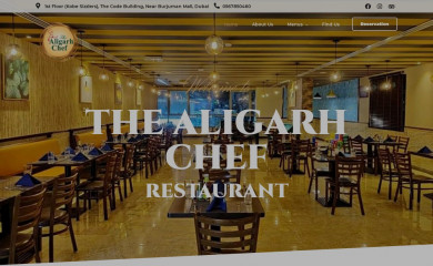 thealigarhchef.com screenshot