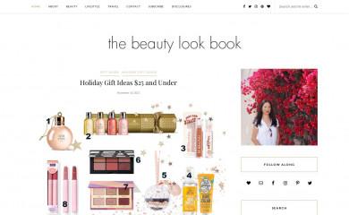 http://thebeautylookbook.com screenshot