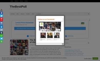 thebestpoll.com screenshot