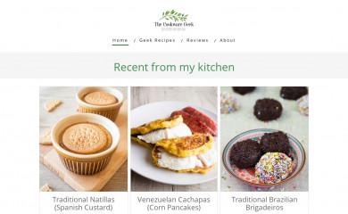 thecookwaregeek.com screenshot