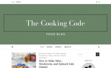 thecookingcoders.com screenshot