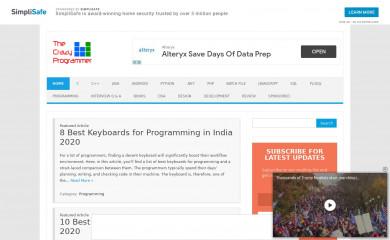 thecrazyprogrammer.com screenshot