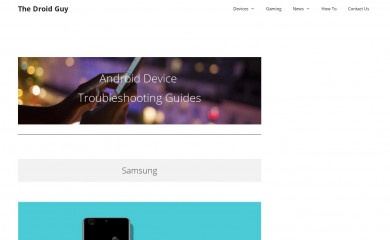 thedroidguy.com screenshot