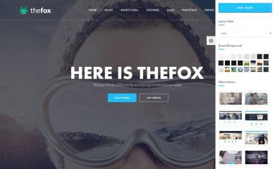 http://www.thefoxwp.com screenshot