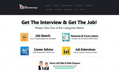 http://theinterviewguys.com screenshot