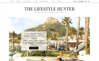 http://thelifestylehunter.com screenshot