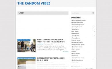therandomvibez.com screenshot