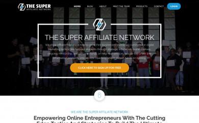 thesuperaffiliatenetwork.com screenshot