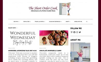 theshortordercook.com screenshot