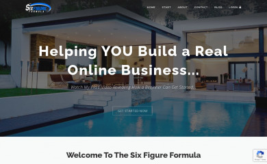 thesixfigureformula.com screenshot