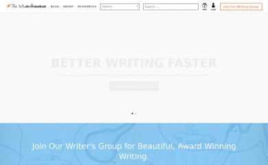 thewritepractice.com screenshot