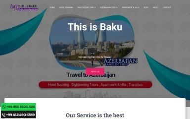 thisisbaku.com screenshot