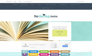 thisreadingmama.com screenshot