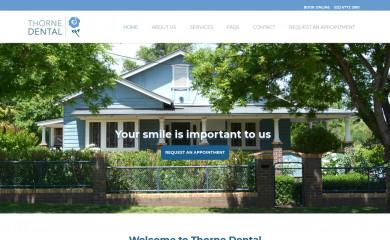 thornedental.com.au screenshot