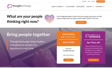 thoughtexchange.com screenshot