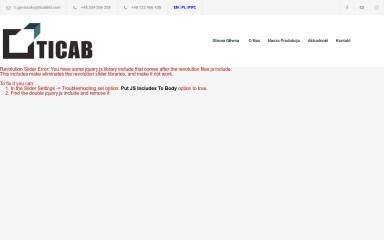 ticabltd.com screenshot