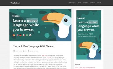 timleland.com screenshot