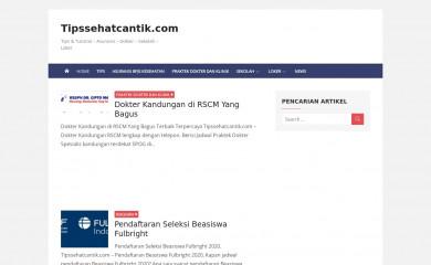 tipssehatcantik.com screenshot