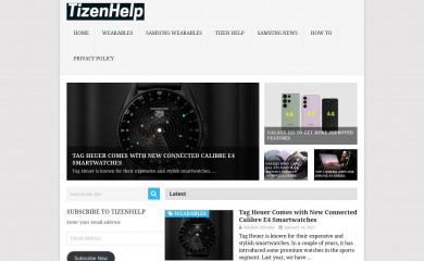 tizenhelp.com screenshot