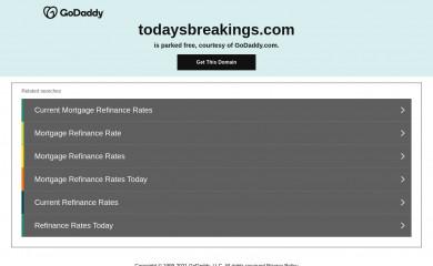 todaysbreakings.com screenshot