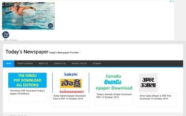 http://todaysepaper.com screenshot