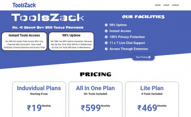 toolszack.in screenshot