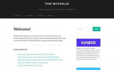 tommcfarlin.com screenshot