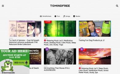 tomindfree.com screenshot