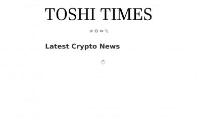 http://toshitimes.com screenshot